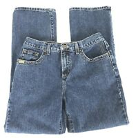 Rockies Womens Jeans Size 10 Short Hi Waist Boot Cut 100% Cotton