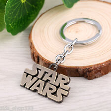 STAR WARS LOGO Full Metal Key chain Keychain Bronze collectible cosplay us selle