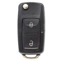 2 Buttons Key Repair Kit For VW Golf 4 Bora Lupo Passat Polo Remote Case Fob