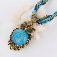 Women's Necklace owl Pendant Resin Chain Fashion Jewelry New Link Hot