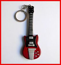 AC/DC ANGUS YOUNG - GUITARE MINIATURE PORTE CLE ! Keychain Rock Metal Heavy SG