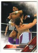 2016 Topps WWE Wrestling Then Now Forever Shirt Relic /299 Darren Young