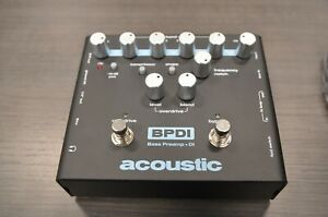 Acoustic Bass Preamp & DI Pedal with Overdrive