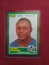 1989 Score #257 Barry Sanders RC Rookie