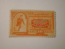 US 1893 Special Delivery 10 Cent Orange #E3 H