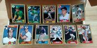 1987 Topps Baseball  Set Complete 1-792 Bonds Bo Jackson RC Rookies NRMT+