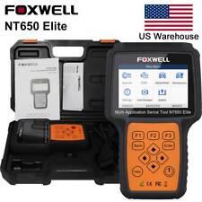 FOXWELL NT650Elite OBD2 Diagnostic Scanner ABS Airbag SAS EPB DPF Oil Reset Tool