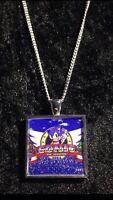 Retro Gaming Necklace And Keyring Sega Megadrive Genesis Sonic The Hedgehog