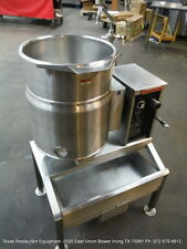 Market Forge 10 Gallons Electric Tilt Kettle Fct-10Ce with Stand