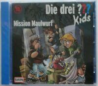 Die drei ??? Kinds Folge 18 Mission Maulwurf Drei Fragezeichen in Folie (2010)