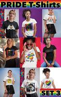 Details about  /Gay Pulse Festival LGBT Mens ORGANIC T-Shirt Pride Colours Mardi Gras London