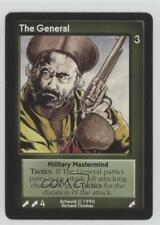 1995 Shadowfist Collectible Card Game Standard Base Set #NoN The General 2ts
