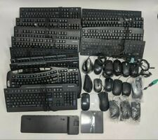 Lot of 33 Good Keyboards, Mice, Docking Station, and External DVDRW Drive-NR2970