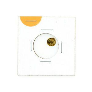 India Gold Fanam 1700's xf