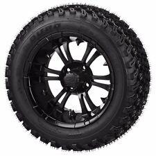 Set of 4 - 23x10-14 Duro Tire on a 14x7 Matte Black Type 12 Wheel w/FREE freight