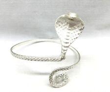 Cobra Snake Upper Arm Armlet Wrap Bracelet Cuff Armband Bangle Silver Egyptian