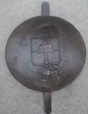 insigne de Casque Adrian  de la 9e Division d'infanterie coloniale modèle 37