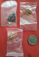 RARE, NOS TWA AIRLINES 75 & 70 YEARS PINS & WINGS OF PRIDE PIN