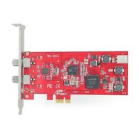 TBS6903 Professional DVB-S2 Dual Tuner PCIe Card EUMETCast Compatibility IPTV HD