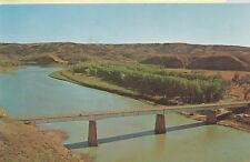 Malta Mt Fred Robinson Bridge Postcard 1950s