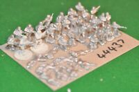 20mm ww2 / generic - castings unpainted 30 figures - inf (44437)