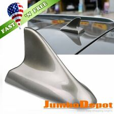 US Dark Gray Car Roof Top Shark Fin Style Dummy Antenna Aerial Fit Honda CRV