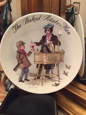 Wedgwood The Baked Potato Man Plate