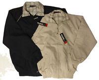 Boys Kids Classic Harrington Jacket Summer Light Weight Vintage Retro Coats New