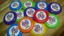 12 Super Smash Bros. mini frisbees birthday party favor, treat bag Nintendo WII