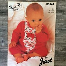 BB01 Baby/'s All-in-One Romper Suit Knitting Pattern