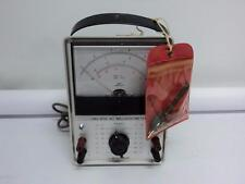 Leader Lmv 87a Ac Millivoltmeter And A Pouch Of Tools A3b