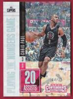 CHRIS PAUL 2017-18 CONTENDERS PLAYING THE NUMBERS GAME CRACKED ICE #04/25