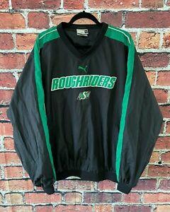 Vintage Puma Saskatchewan Roughriders CFL Windbreaker Sport Jacket Men's Size XL