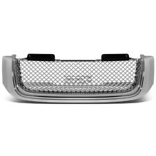 02-08 GMC ENVOY CHROME BENTLEY STYLE MESH BADGELESS FRONT ABS GRILL/GRILLE GUARD
