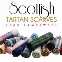 Kiltane of Scotland 100% Lambswool Scottish Tartan Multicolour Scarf/Shawl