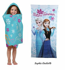 Official Disney Frozen Cotton Beach Towel Anna Elsa Olaf Boys Girls Kids Gift