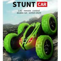 RC Stunt Remote Control Car Double Sided Rotating Tumbling 2.4GHz Kids Toys Car