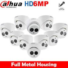 10x Dahua Ipc-hdw4631c-a 6mp Built-in Mic Metal Home Security CCTV Poe IP Camera