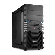 Sharkoon Vg4-v Midi-tower negro carcasa de ordenador