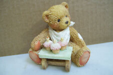 """Cherished Teddies Age 3 """"Three Cheers For You"""" Hamilton Gifts 1992"""