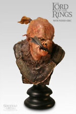 Sideshow Weta Lord Of The Rings Wounded Orc Polystone Bust Figure Hobbit