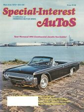 SIA Special Interest Autos May-June 1976-Chevrolet Dodge Lincoln Packard Pontiac