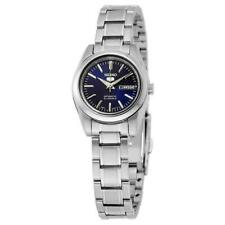 Seiko Ladies 5 Automatic Navy Blue Dial Stainless Steel Watch - SYMK15K1 NEW