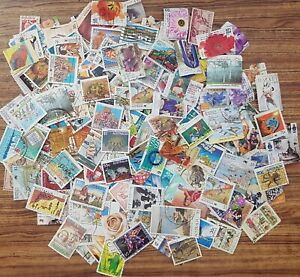 Bulk lot clearance 200+ Australian Decimal Postage Stamps off paper mixed #103