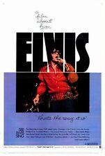 ELVIS: THAT'S THE WAY IT IS Movie POSTER 27x40 Elvis Presley James Burton