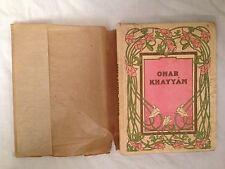 Charles Robinson - Rubaiyat Of Omar Khayyam - 1930s - 4 Plates in Glassine D/W