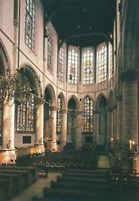 alte AK Gouda - St. Janskerk Interior Niederlande ungelaufen Ansichtskarte B010c