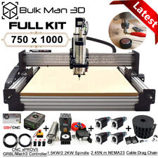 7510 Work Bee Cnc Router Machine 4 Axis Wood Cnc Engraving Milling Machine Kit