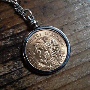 Authentic Vintage  Coin Necklace Bezel
