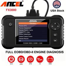 Automotive OBD2 Diagnostic Scanner Tool ABS Engine Transmission SRS SAS EPB BMS